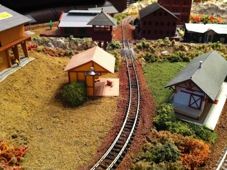 Model Train Crossroads