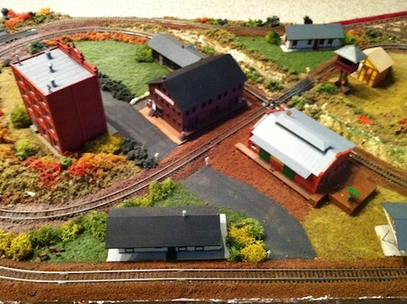 Model Railroad Crossing