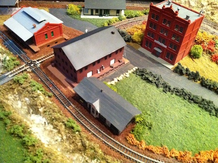 Model Train Freight House