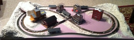 Building a Small N Scale Model Train Layout