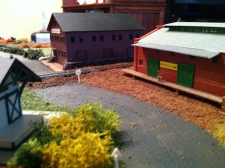 Model Railroad Road