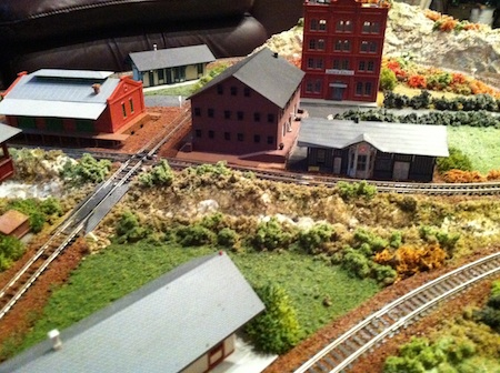 Model Railroad Station