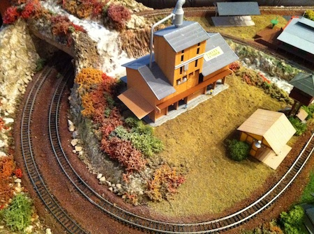 Model Railroad Tunnel