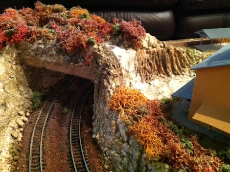Model Train Tunnel
