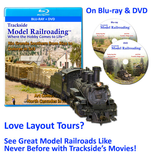 Trackside Model Railroading: High quality layout tours of the best model railroads in the USA