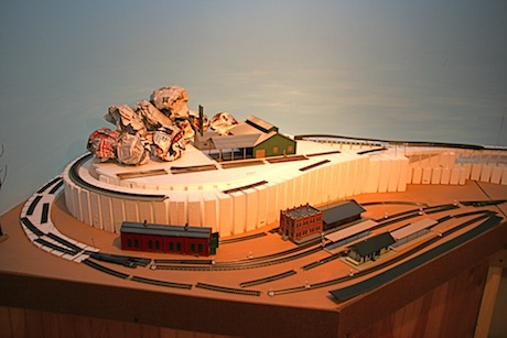 Model Railroad Backdrop
