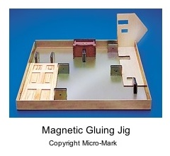 Magnetic gluing jig