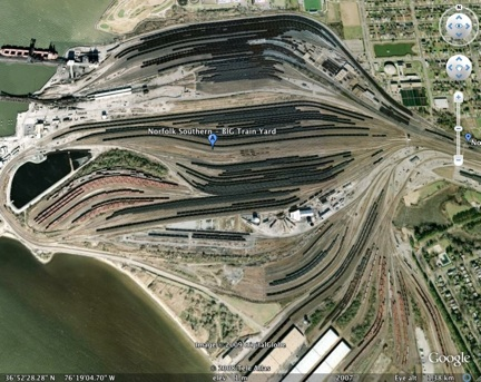 Using Google Earth To Discover Prototype Track Plans