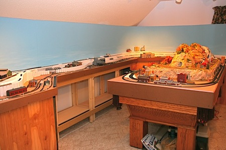 Train Room for My Model Railroad