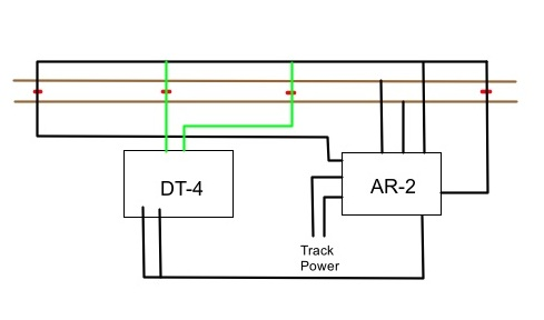 Model Railroad Wiring for Automated Train Operation