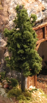 Model railroad trees