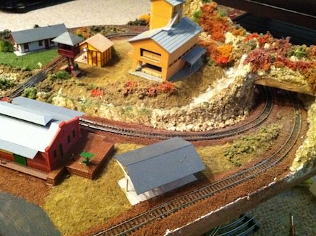 Model Railroad with Tunnel