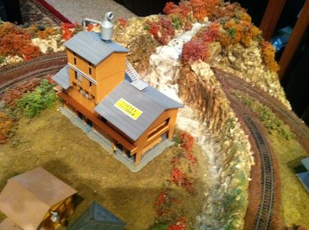 Model Railroad Waterfall and Rapids
