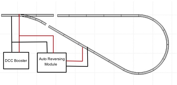 model railroad wiringwiring for a dcc autoreversing module