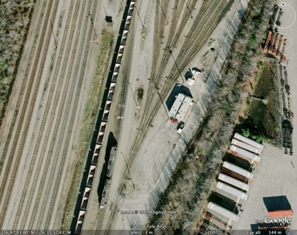 Norfolk Southern Portlock Yard in Chesapeake