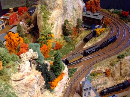 Model Train Layout - N scale