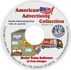 Model train graphics software