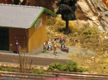Model railroad scenery details