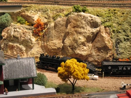 Model railroad rocks